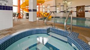 The swimming pool at or near Best Western Plus Service Inn & Suites