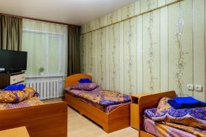 Кровать или кровати в номере Apartment TwoPillows on Lomonosova 9