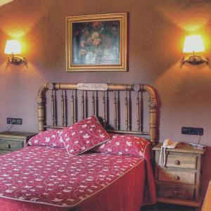Cama o camas de una habitación en Hotel Caseta Nova