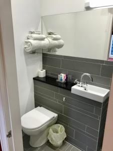 A bathroom at Dairy Guest House