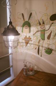 Art Apartment AOCA Sanno ARMYにあるバスルーム
