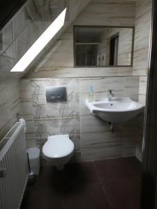 Koupelna v ubytování Jízdárna Malenovice
