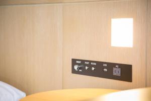 A bathroom at Kansai Airport Washington Hotel