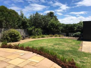 A garden outside Apostle Hideaway - Central Port Campbell