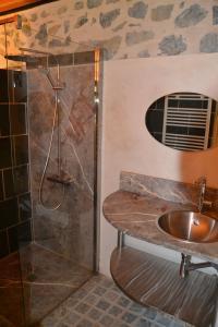 A bathroom at Les Ondines