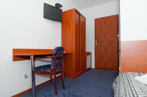 Telewizja i/lub zestaw kina domowego w obiekcie Villa Park Maikuhle