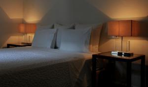 Cama o camas de una habitación en Aire De Ronda