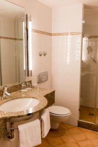 Ein Badezimmer in der Unterkunft Bad Hotel Bad Überkingen