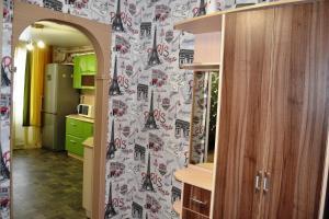 A bathroom at 1-комнатная в Новом доме!