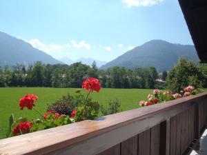 Ein Balkon oder eine Terrasse in der Unterkunft Ferienwohnung Heigermoser