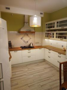 A kitchen or kitchenette at Guest house at 9 Proseka