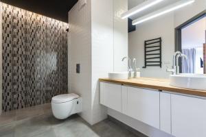 Łazienka w obiekcie Super-Apartamenty Luxury