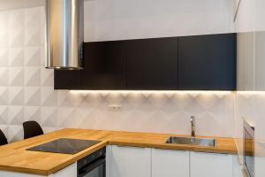 Kuchnia lub aneks kuchenny w obiekcie Super-Apartamenty Luxury