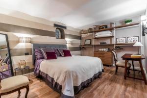 Ein Bett oder Betten in einem Zimmer der Unterkunft Bozzi 1910