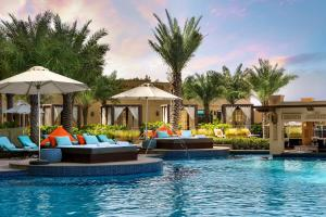 The swimming pool at or near Fairmont Ajman