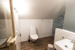 Ett badrum på Parkvillan