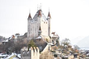 Hotel AM Schloss зимой