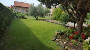 Jardín al aire libre en Casa Rural El Meson