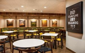 A restaurant or other place to eat at Fairfield Inn & Suites by Marriott Boston Walpole