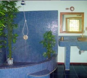 A bathroom at Casa Paraíso