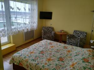 Lova arba lovos apgyvendinimo įstaigoje Hotel Jurbarkas