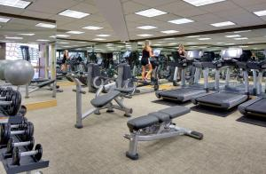 The fitness center and/or fitness facilities at Hyatt Regency Princeton