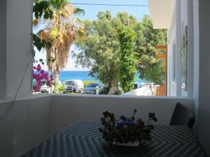 Μπαλκόνι ή βεράντα στο Seaside Studios Kirania