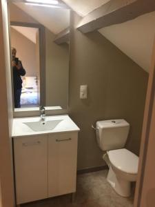 A bathroom at Residence Jantet