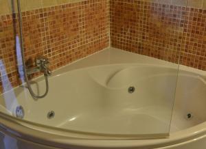 Ein Badezimmer in der Unterkunft La Aldea Encantada
