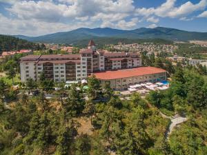 A bird's-eye view of SPA Club Bor Hotel
