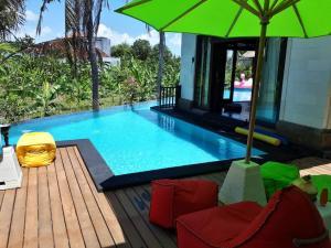 The swimming pool at or near Villa Nitras