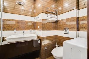 Ванная комната в Апартаменты Рай