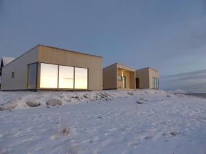 Varanger Lodge during the winter