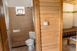 Ванная комната в Agrousadba Sosnovy Bereg