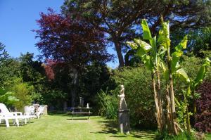 A garden outside The Grange B&B