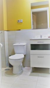 A bathroom at Hotel Rosal