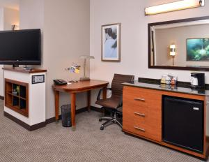 A television and/or entertainment center at Hyatt Place Garden City
