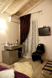 Μια τηλεόραση ή/και κέντρο ψυχαγωγίας στο Grimani Pension