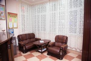 Гостиная зона в Тархо Отель