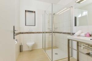 A bathroom at Hotel Primavera Parco