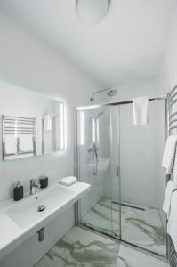 Koupelna v ubytování Lazenska N°4