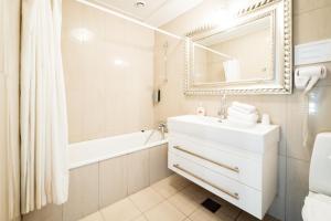 Et badeværelse på Den Gamle Grænsekro Inn