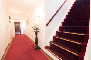 Lobbyen eller receptionen på Den Gamle Grænsekro Inn