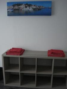 Télévision ou salle de divertissement dans l'établissement Gite Izaxulo