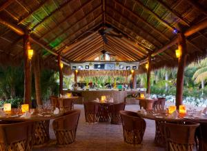 A restaurant or other place to eat at El Dorado Casitas Royale, Gourmet All Inclusive by Karisma