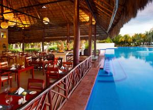 The swimming pool at or near El Dorado Casitas Royale, Gourmet All Inclusive by Karisma