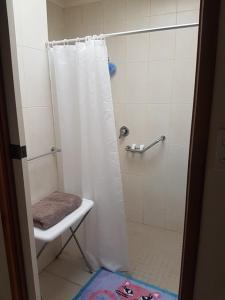 A bathroom at Heavenly Farm B & B Tasmania