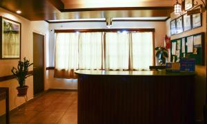 The lobby or reception area at Treebo Trend The Nettle and Fern Hotel