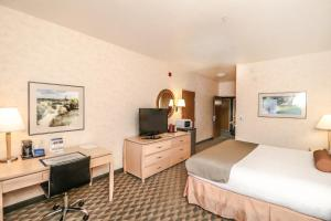 A television and/or entertainment center at Best Western Plus North Las Vegas Inn & Suites