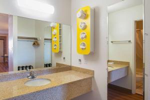 A bathroom at Motel 6-Safford, AZ